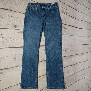 NYDJ Size 10 Straight Leg Jeans Lift Tuck EUC